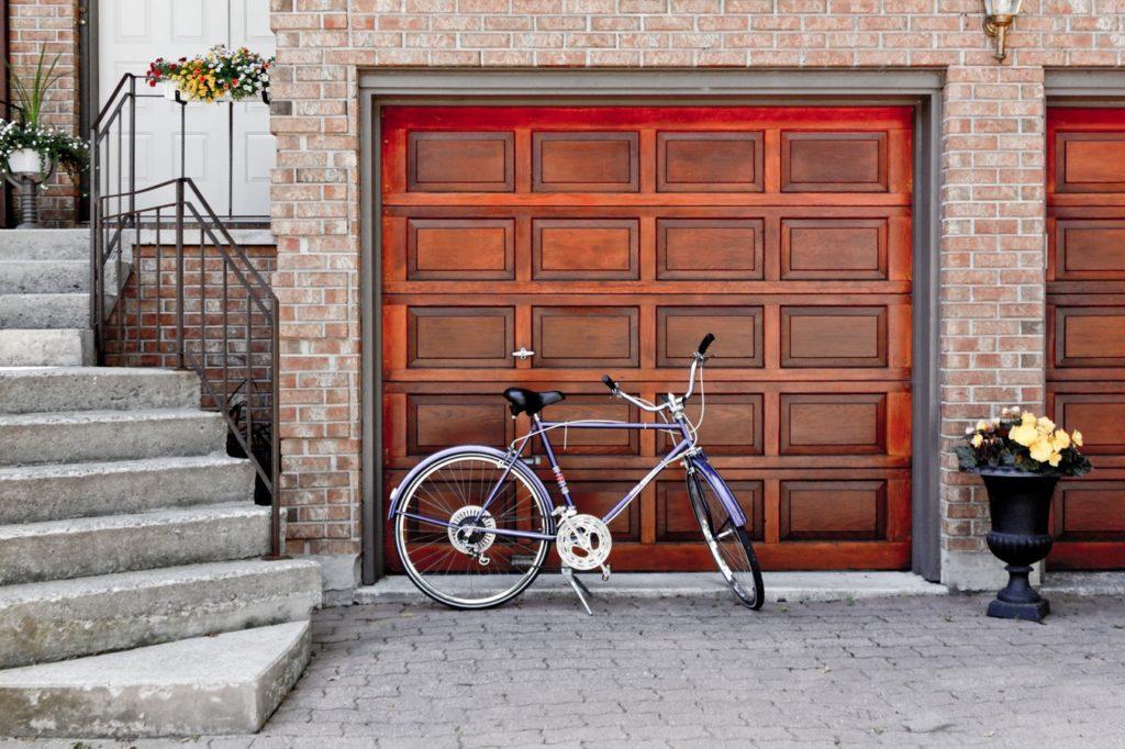Custom garage door built in Agoura Hills