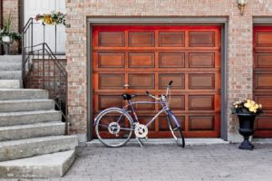 Custom garage door built in Agoura Hills