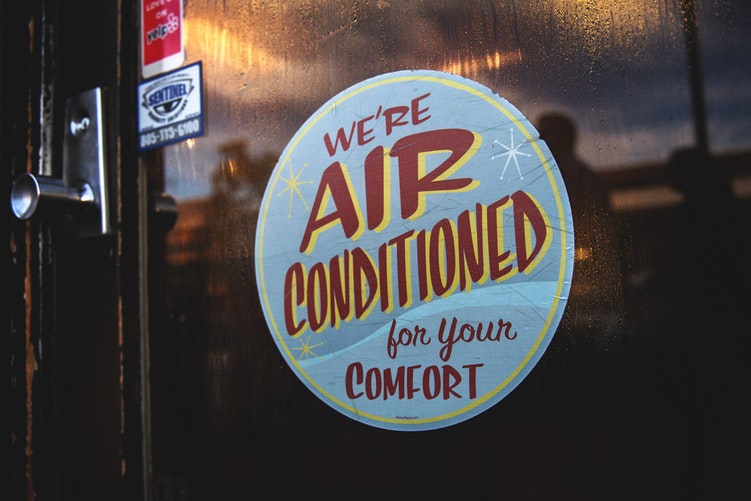 Air Conditioning Sign