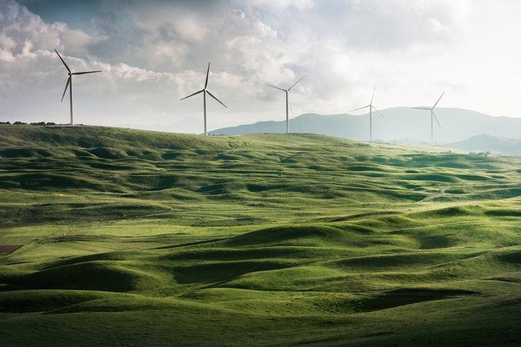 Windmills in California