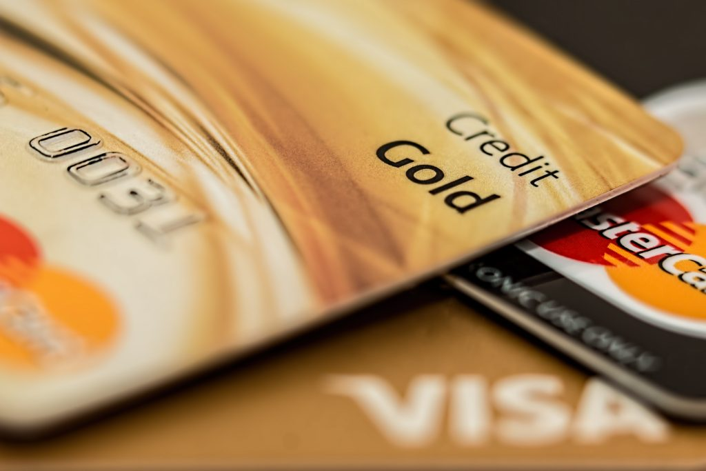 gold credit score card