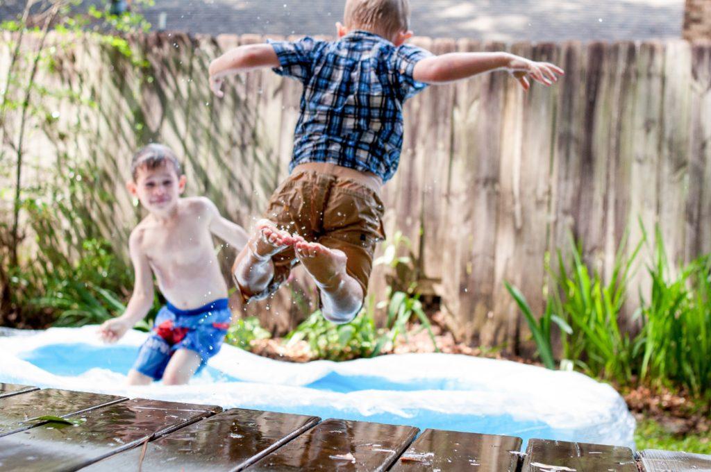 water play fun kids