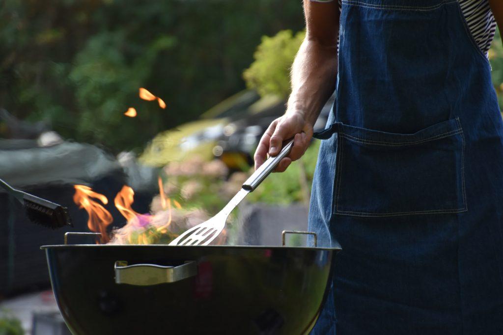 BBQ backyard