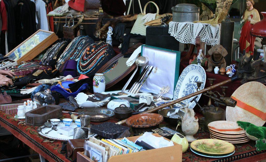 flea market junk