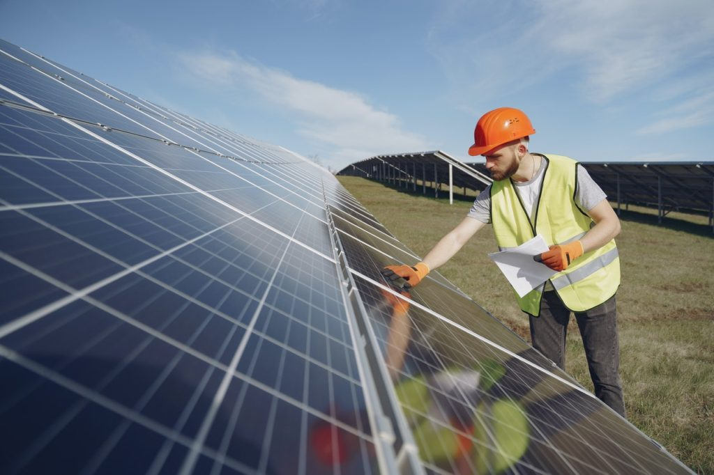 inspection process of solar panels